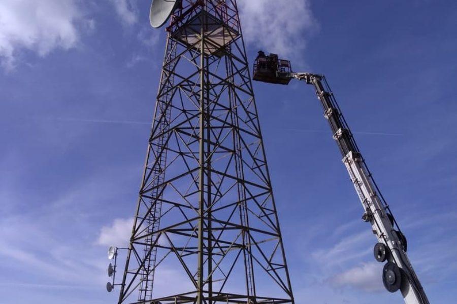 2018 008 – Aereonautica Militare – Verifica di sicurezza e proposte d'intervento su tralicci radar – Progettazione strutturale in staff con altri professionisti