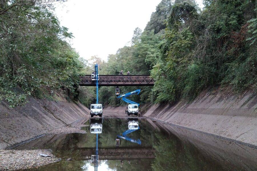 2020 004 – Redazione modello FEM, collaborazione tecnica per la verifica statica e l'individuazione della capacità portante di ponte carrabile – Vizzola Ticino (VA)